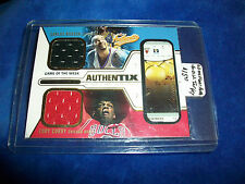 2003-04 Fleer Authentix GOTW Dual Jersey #CB-EC Carlos Boozer Eddy Curry