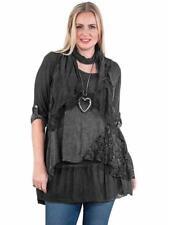 Vestiti da donna nero acrilico casual