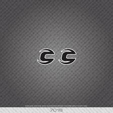 07018 CANNONDALE Head Badge Bicicletta Adesivi-Decalcomanie-Transfers