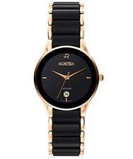 Roamer Gents Ceraline Saphira Black Ceramic Gold Tone 30mm Watch