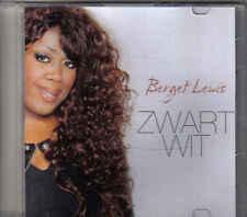Berget Lewis-Zwart Wit Promo cd single