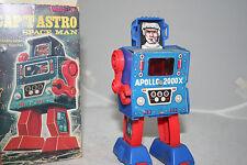 VINTAGE1960S CAPTAIN ASTRO ASTRONAUT TIN TOY IN ORIGINAL BOX DAIYA MEGO