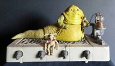 Vintage Complete Star Wars Jabba the Hutt Playset with Salacious B. Crumb