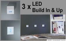 Set LED Aufbauleuchte Unterbauleuchte Einbau Aufbau Unterbau MONTICELLO weiß