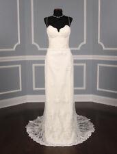 Romona Keveza Legends L6100 Sheath Sleeveless Ivory Sweetheart Wedding Dress 10