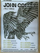 JOHN COFFEY 2015 TOUR - orig.Concert Poster  --  Konzert Plakat  A1 NEU