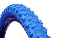 1 PAIR ( 2 TYRES ) MOUNTAIN BIKE MTB TYRES TIRES 26 x 2.10 ALL BLUE  M1101