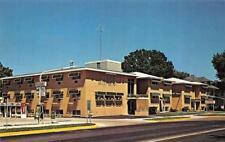 ROCHESTER, MN Minnesota  THE TWINS~Apartments  ROADSIDE Chrome Postcard