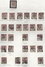 1887 GIUBILEO SG198 11/2d viola e verde usato/Menta collezione Inc CD, i funzionari