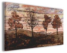 Quadro moderno Egon Schiele vol XXVI stampa su tela canvas pittori famosi