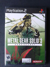 Sony PlayStation 2 Metal Gear Solid 3: Subsistence US NEUF/Scellé - NEW SEALED