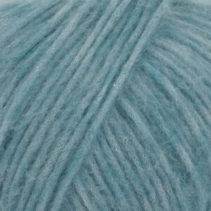 Worsted Weight Baby Alpaca Knitting Yarn, Lightweight DROPS AIR,1.8 oz