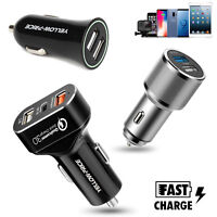 3 USB QC3.0 Car DC Charger 12V 8.4A 30W Adapter For iPhone XS Samsung Note 9