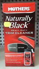 MOTHERS - Naturally Black Heavy Duty Trim Cleaner Kit *Gel & Brush*  #46141