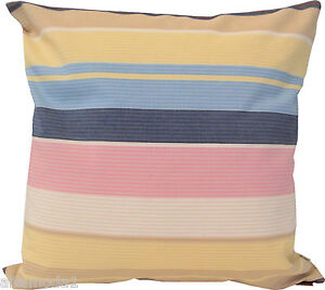 "MISSONI HOME PILLOW COVER  HAMMOCK COLLECTION  COTTON REPPS 16x16"" ARENAS T60"