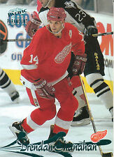 97-98 PACIFIC PARAMOUNT EMERALD GREEN #70 BRENDAN SHANAHAN RED WINGS *10325