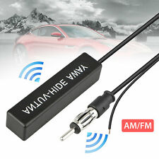 Auto Car Hidden Amplified Antenna 12V Electronic Stereo AM/FM Radio Universal US