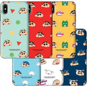 Genuine Crayon Shin-Chan Face Pattern Armour Case Galaxy Note 10 Note 10 Plus