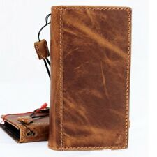 Genuine real leather Case for apple iphone x book soft wallet handmade cover pro