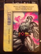 Marvel Overpower IQ Colossus Organic Steel NrMint-Mint Card