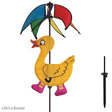 Duck Windspinner.Yellow Ducky Wind Spinner.Garden Spinner.Windmill.