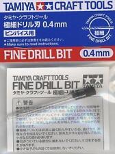 TAMIYA MODEL KIT TOOL CRAFT 74082 Fine Drill Bit 0.4 mm for Plastic New