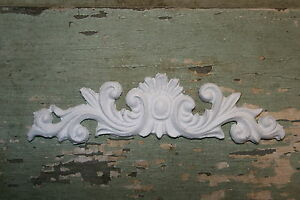 DIY shabby chic appliques furniture appliques onlay architectural mouldings