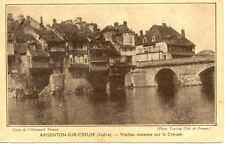 ARGENTON vielles maisons sur la creuse almanach vermot touring club de france