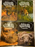 4 African Sporting Gazette Hunting Magazine Volume 10 Issue 1 2 3 4 1-4 Lot