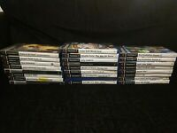 PS2 GAMES JOB LOT PLAYSTATION 2 GAMES BUNDLE - 25x PS2 GAMES TESTED & WORKING
