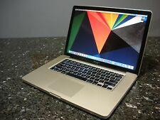 "Apple MacBook Pro A1286 15.4"", Intel Core i5 2.4GHZ, 4GB Mem., 500 GB HD, DVD-WR"