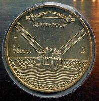 2007 Sydney Harbour Bridge 75th Years $1 Coin - Mobile Press 'S' Mintmark