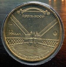2007 Sydney Harbour Bridge $1 Coin - Mobile 'S' Mintmark - Easter Show