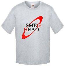 SMEG HEAD, Red Dwarf Parody logo, T Shirt Childrens Kids Size Lister, Rimmer Cat