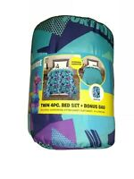 Fortnite Twin 4 Piece Bed Set Plus Bonus Bag - Comforter, Fitted Sheet, Flat...