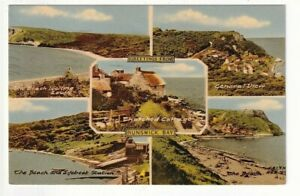 A Frith's Multiview Post Card of Greetings From Runswick Bay. North Yorkshire
