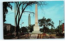 Mother's Monument Plattsburgh NY New York Vintage Postcard B12