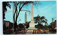 Mother's Monument Plattsburgh NY New York Vintage Postcard B12