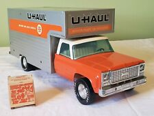 Nylint Toys Chevrolet Cab Private Label U-HAUL RENTAL BOX TRUCK 70's RARE NICE
