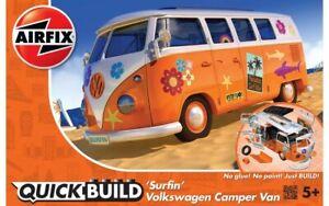 Airfix J6032 VW Camper Surfin Modèle Auto Kit de Montage, Quick Build - Rupture