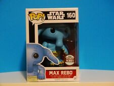 Funko Pop! Max Rebo # 160 Specialty Series  Star Wars  +P/Prot