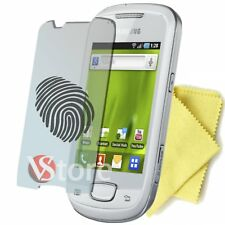 4 Pellicola Opaca Per Samsung S5570 GALAXY NEXT Antiriflesso Antimpronta