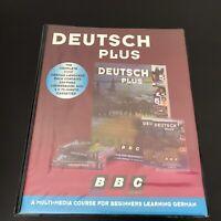Audio Book - BBC Deutsch Plus : 4 cassettes  (Beginners German)