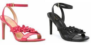 Michael Kors TRICIA Floral Detail Heel Sandals Shoes