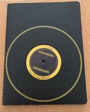 Italian Moleskin Notebook/Thought Book With Vinyl Record Canzoni Invisibili
