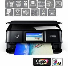 Epson XP-8600 A4 Photo Printer 3in1 Wireless CD/DVD Printer AirPrint C11CH47401