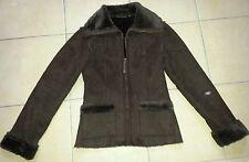 Manteau marron Kiabi taille 36, intérieur tout doux + cadeau