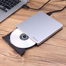 Extern DVD+RW CD-RW Brenner Laufwerk USB 3.0 CD+RW DVD ROM für Laptop & PC TOP