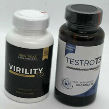 TESTRO T3 (60 Caps) & VIRILITY (60 Caps) MAXIMUM MALE PERFORMANCE