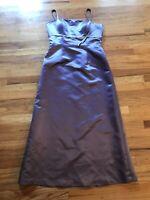 Bill Levkoff Bridesmaid Sleeveless Full Length Formal Dress Lavender Size 14